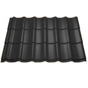 dakpanprofiel-ongeïsoleerd-zwart